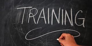 Schoolbord, training